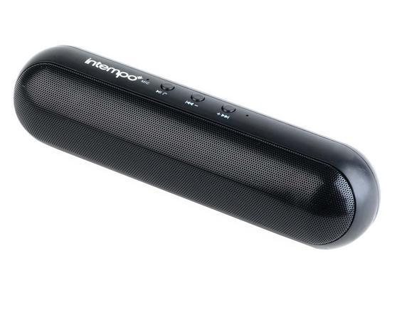 Intempo Bluetooth Black Capsule Speaker