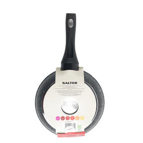 Salter BW05745S Megastone Collection Non-Stick Forged Aluminium Frying Pan, 20 cm, Silver Thumbnail 2