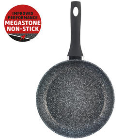Salter Megastone Collection Non-Stick Forged Aluminium Frying Pan, 28 cm, Silver Thumbnail 2