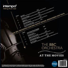 Intempo BBC Orchestra At The Movies LP Vinyl Record Thumbnail 2