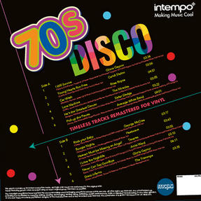 "Intempo EE2283 70?s Disco LP Vinyl Record, Remastered, 12"", Feat. Sister Sledge, Gloria Gaynor & More Thumbnail 2"