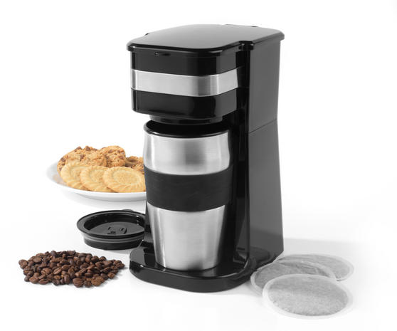 Cooks Coffee Maker Filter Basket : Salter Coffee Maker to Go Personal Filter Coffee Machine - Kitchen Tools - Salter