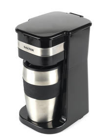 Salter Coffee Maker to Go Personal Filter Coffee Machine, 420 ml, 700 W, Black
