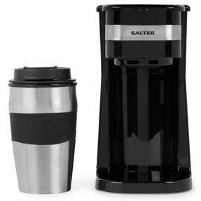 Salter EK2408 Coffee Maker to Go Personal Filter Coffee Machine, 420 ml, 700 W, Black Thumbnail 2
