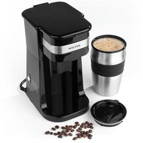 Salter EK2408 Coffee Maker to Go Personal Filter Coffee Machine, 420 ml, 700 W, Black Thumbnail 2