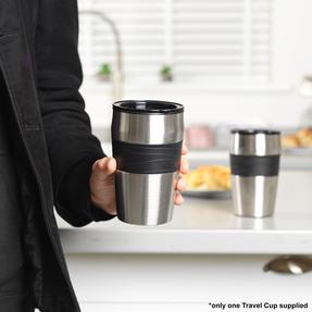 Salter EK2408 Coffee Maker to Go Personal Filter Coffee Machine, 420 ml, 700 W, Black Thumbnail 6