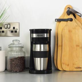 Salter EK2408 Coffee Maker to Go Personal Filter Coffee Machine, 420 ml, 700 W, Black Thumbnail 7