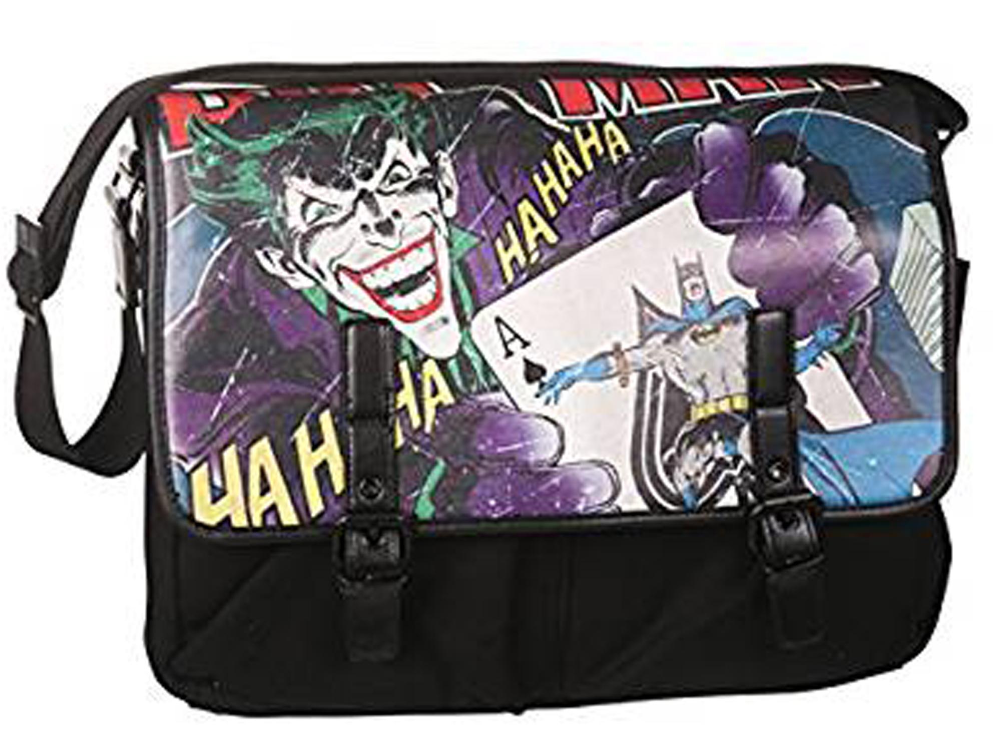 208e1d46e417 DC Comics Joker   Batman Vintage Satchel