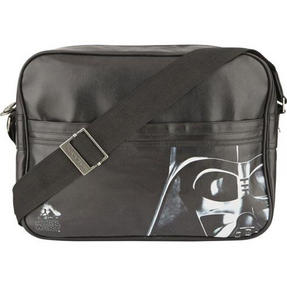 BB Designs Unisex Star Wars Darth Vader Classic Messenger Bag, Black