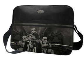Star Wars The Force Awakens Captain Phasma Messenger Bag, Black