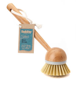 Beldray Natural Dish Brush, 22cm, Bamboo Thumbnail 6