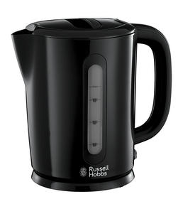 Russell Hobbs Darwin Kettle and 2 Slice Toaster Set, Black/Silver Thumbnail 2