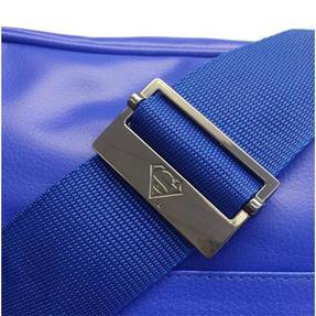 BB Designs Unisex Superman Classic Messenger Bag, Blue Thumbnail 2