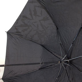 DC Comics Batman Unisex Golf Umbrella Automatic Folding Brolly, Black Thumbnail 2