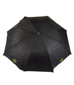 DC Comics Batman Unisex Golf Umbrella Automatic Folding Brolly, Black Thumbnail 5