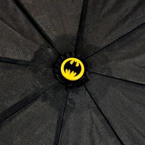 DC Comics Batman Unisex Golf Umbrella Automatic Folding Brolly, Black Thumbnail 7
