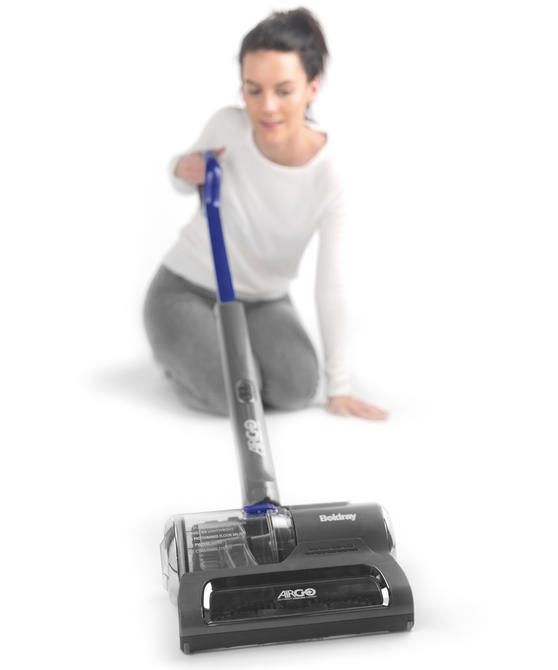 Beldray AirGo Two-Speed Cordless Vacuum Cleaner, 1 L, 2.16 V, Blue/Grey Thumbnail 3
