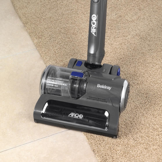 Beldray AirGo Two-Speed Cordless Vacuum Cleaner, 1 L, 2.16 V, Blue/Grey Thumbnail 5
