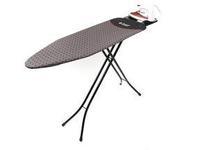 Russell Hobbs LA043153BLK Ironing Board with Jumbo Iron Rest, 122 x 38 cm, Black Thumbnail 4