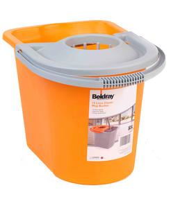 Beldray LA027818BMMIL Orange 15 Litre Mop Bucket Thumbnail 2