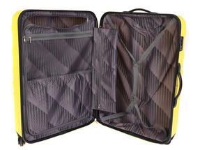 """Constellation Galloway ABS Suitcase, 28"""", Yellow Thumbnail 4"""
