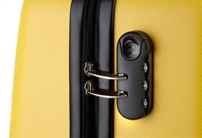"Constellation Galloway ABS Suitcase, 28"", Yellow Thumbnail 2"