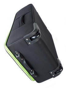 "Constellation Superlite Suitcase, 24"", Black/Green Thumbnail 2"