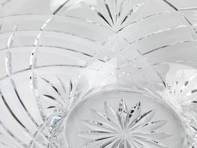 RCR Melodia Crystal Glass Centrepiece Bowl and Vase Set Thumbnail 6