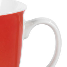Cambridge CM05491 Oxford Cat In Glasses Fine Bone China Mug , Red Thumbnail 4