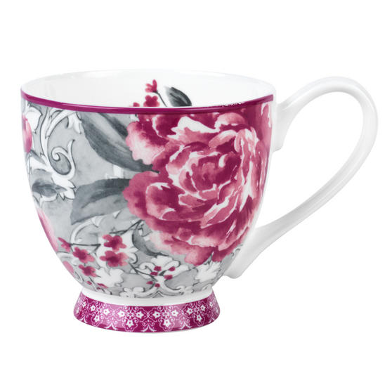 Portobello Sandringham Valentina Baroque Bone China Mug