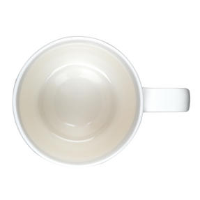 Portobello CM05713 Devon Marble Enjoy Every Momen New Bone China Mug, Yellow and Gold Thumbnail 3
