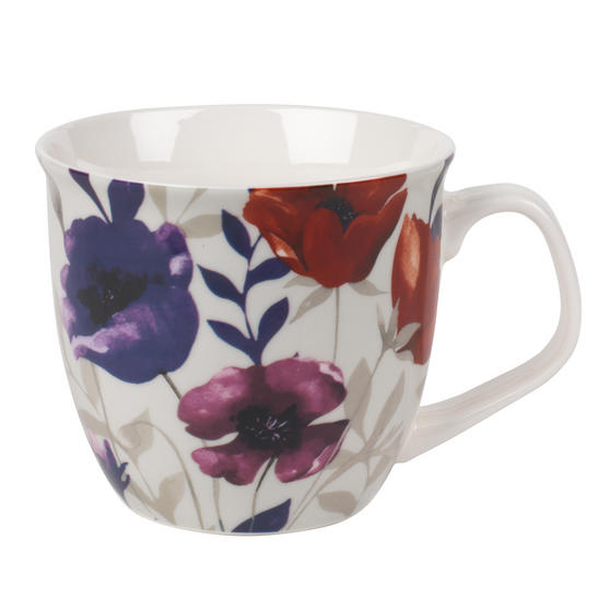 Cambridge CM057161 Oxford Red Poppy Fine China Mug