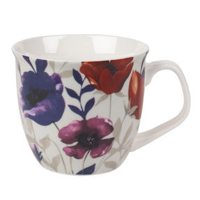 Cambridge CM057161 Oxford Red Poppy Fine China Mug Thumbnail 1