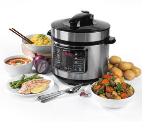 Salter Rapid Non-Stick Multi Cooker with Lid, 5 Litre, 1000 W Thumbnail 2