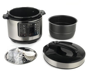 Salter Rapid Non-Stick Multi Cooker with Lid, 5 Litre, 1000 W Thumbnail 4