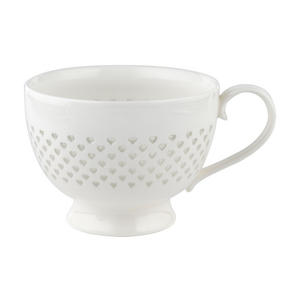 Cambridge CM05187 Lace Polka Hearts Porcelain China Mug