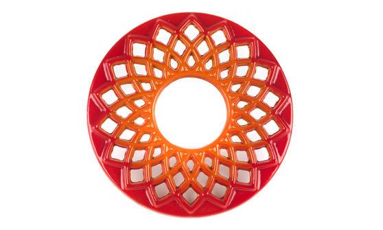 Berndes Cast Iron Trivet, 20cm, Orange