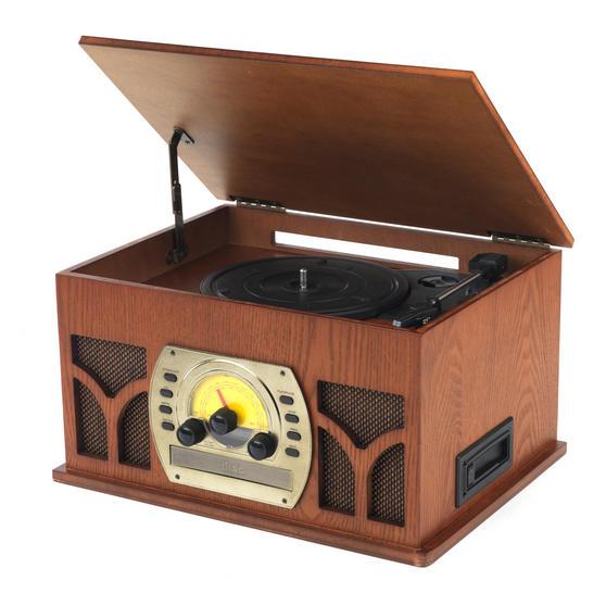 Intempo EE1406 Bluetooth Vintage Turntable Media Unit