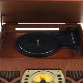 Intempo EE1406 Bluetooth Vintage Turntable Media Unit Thumbnail 4