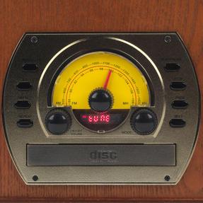 Intempo EE1406 Bluetooth Vintage Turntable Media Unit Thumbnail 5