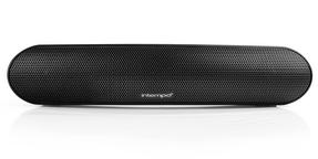 Intempo Curved Bluetooth Metallic Speaker, Black Thumbnail 2