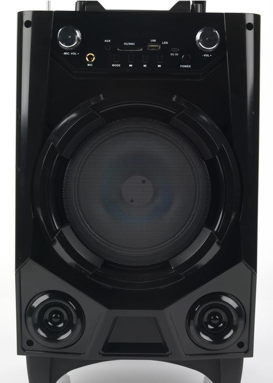 Intempo Ee2728 Wireless Bluetooth Tailgate Speaker Black