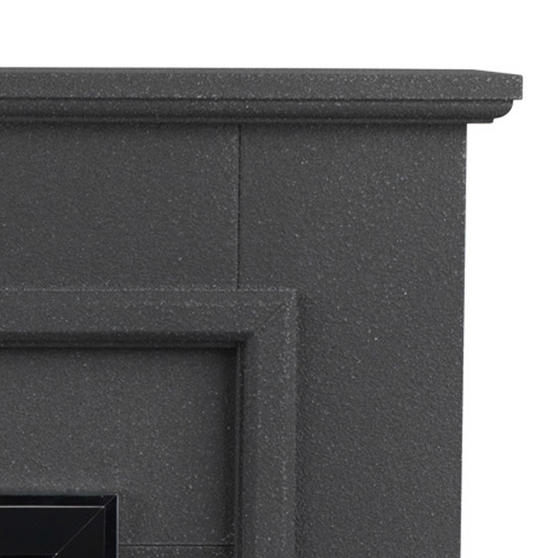Beldray Greystone Electric Fire Suite with Coal Effect and Surround, 2000 W, Grey Thumbnail 4