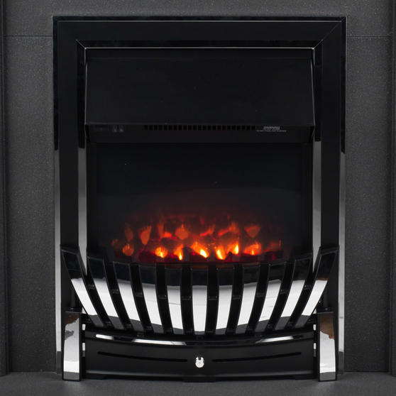 Beldray Greystone Electric Fire Suite with Coal Effect and Surround, 2000 W, Grey Thumbnail 5