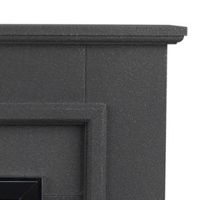Beldray EH1965STSTK Greystone Electric Fire Suite with Coal Effect and Surround, 2000 W, Grey Thumbnail 4