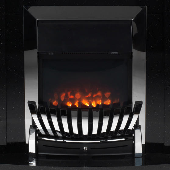 Beldray Arklow Electric Fire Suite with Coal Effect and Surround, 2000 W, Black Thumbnail 5