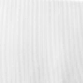 Beldray LA041777WHT Jacquard Striped Hookless Shower Curtain, 180 x 185 cm, White Thumbnail 3