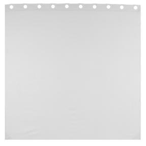Beldray LA041777WHT Jacquard Striped Hookless Shower Curtain, 180 x 185 cm, White Thumbnail 4