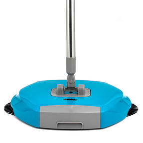 Beldray LA047151 Lightweight Spinning Sweeper, 105 cm, Stainless Steel, Turquoise