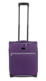 Constellation LG00321PLUSAMIL Easyjet Approved Maximum Capacity Cabin Case, Plum with Grey Trim
